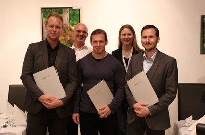 2014 Karl-Heinz-Höhne Award (MedVis- Award)  winners